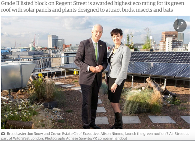UK's most sustainable historic building in London's West End