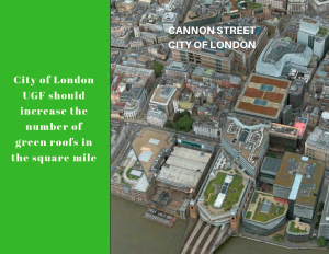 City of London Urban Greening Factor - UGF